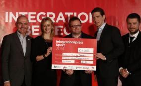 OIF Integrationspreis Sport 2014 © Dragan Tatic