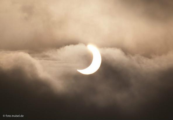 Sonnenfinsternis - © flickr.com/glockentierchen/