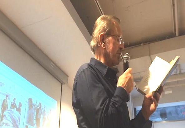 Jürgen Todenhöfer bei der Lesung in Wien