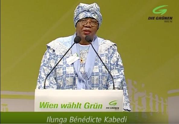 Frau Bénédicte Ilunga-Kabedi - © Youtube/Die Grünen