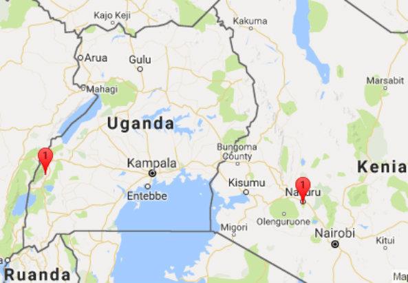Nabugoye in Uganda und Naharuru in Kenia. Foto: M-MEDIA